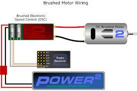 single engine esc wiring 2bfly brushed dc motor