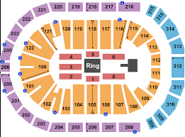 Little Caesars Arena Seating Chart Wwe Wwe Wrestling Tickets