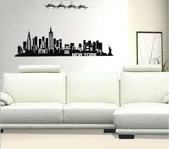 new skyline wall decals nyc decal york sticker i