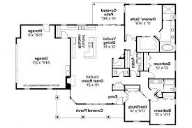 Style Contemporary Ranch House Plans  Modern Contemporary Ranch Contemporary Ranch Floor Plans