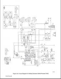 Welder Generator Wiring Diagram WP 225 G7 Lincoln