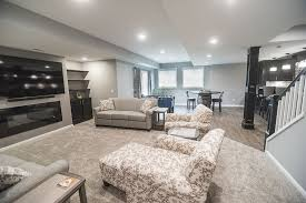to finish a basement with low ceilings