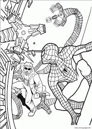 Spectacular Spiderman S Free2503 Coloring Pages Printable