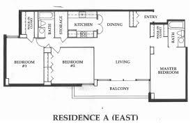 Square Kitchen Floor Plans Residence Floor Plans