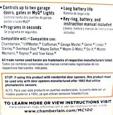 chamberlain garage door manual reset chamberlain garage door keypad er garage door opener instructions keypad reset