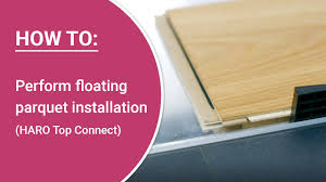 play install parquet yourself installation instructions haro parquet with top connect floating installation