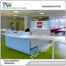 office furniture trade shows. Modern Design Round Reception Desk Trade Show Customized Office Furniture Shows T