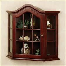 image of wall cabinet with glass doors combine