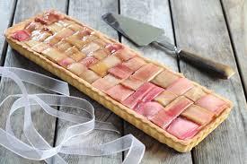"""Résultat de recherche d'images pour """"tartes à la rhubarbe géométrique"""""""