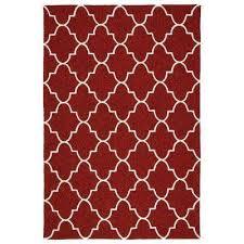 escape red 9 ft x 12 ft indoor outdoor area rug