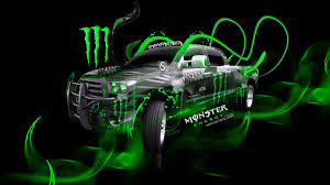 monster energy toyota tundra fantasy plastic car