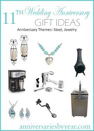 11 year anniversary twitter facebook google 11th anniversary gift ideas