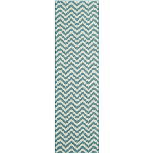 baja light blue chevron outdoor rug 8ft 6in x 13ft