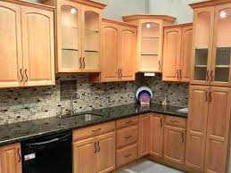 light cabinets dark countertops beautiful charming lovely kitchen color schemes with light wood cabinets and dark