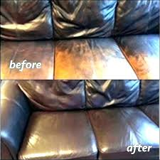 repairing leather couch tear repair how to fix torn seam renish x scratches cat a hole
