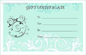 Personalised Gift Vouchers Templates Personalised Gift Vouchers Templates Personalised Gift