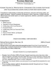 Technical Writer Resume Samples Technical Resume Writer Innazo Us Innazo Us
