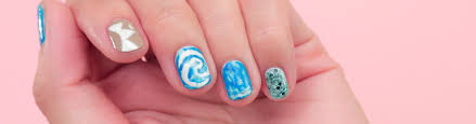 Set Sail for Adventure With This Moana Nail Art
