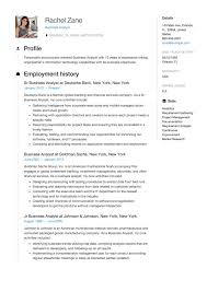 Sample Resumes For Business Analyst Business Analyst Resume Guide Sample Resumeviking Com