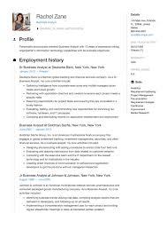 Analytics Resumes Business Analyst Resume Guide Sample Resumeviking Com