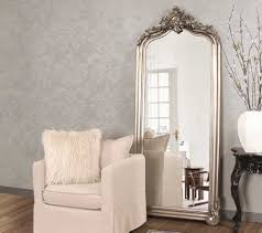 silver floor mirror. Howard Elliott Tudor 38\u0027\u0027 W X 87\u0027\u0027 H Silver Floor Mirror M
