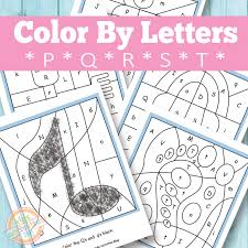 Here's a set of printable alphabet letters coloring pages for you to download and color. Color By Letters P Q R S T Free Kids Printable