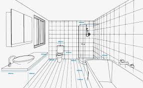 bathroom dimensions. Contemporary Bathroom Bathroom Renovation Plan In Dimensions