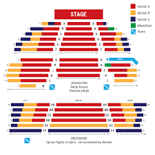 Seating Maps Barrington Stage Company