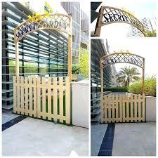 retractable deck gate driveway outdoor nz