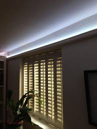 ceiling coving lighting. The Pictures Below Show InStyle\u0027s 7.5w RGB LED Tape Used In A Kitchen Coving. As You Can See, Also Mix Pure White Light. Ceiling Coving Lighting