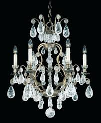 schonbek crystal chandelier s milano versailles rock colored schonbek crystal chandelier