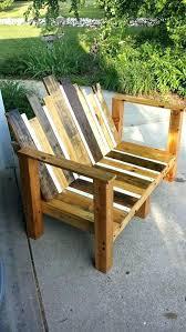 backyard bench plans