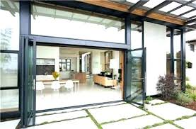 bifold patio doors cost bi fold glass patio doors exterior glass doors interesting exterior accordion doors