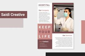 Microsoft Flyer Template Free Download Hospital Company Flyer Template Free Download On Microsoft