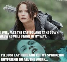 Hunger games vs Twilight | Funny Dirty Adult Jokes, Memes & Pictures via Relatably.com