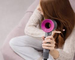 dyson hair dryer. i never liked blow drying my hair. dyson hair dryer