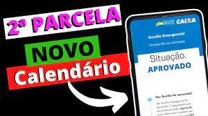 NOVO Calendário do AUXÍLIO EMERGENCIAL da 2ª PARCELA Sai na Próxima Semana  #caixa - YouTube