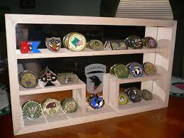 custom made military challenge coin rack