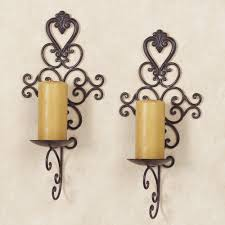 candle sconces candle wall sconces circle candle wall sconce