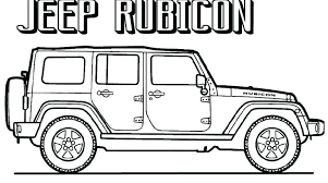 Jeep Coloring Page Jeep Wrangler Coloring Pages Update Trucks All