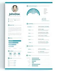 Infographic Resume Templates Best Create Free Resume Template Professional Infographic WordPress