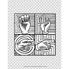 Deaf Culture Fairy Tales Coloring Book | Childrens Sign Language ...