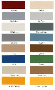 Epoxy Garage Floor Color Chart Armor Granite Garage Floor Coating Epoxy Kit