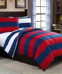 rugby stripe comforter love this navy red set on finds tommy hilfiger rugby stripe