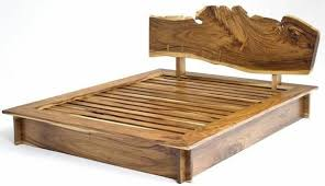 natural wood bed frame. Exellent Bed Natural Wood Furniture Solid Design Bed Frame Intended Wood Bed Frame L