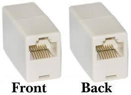 rj45 networking female to female connector coupler joiner
