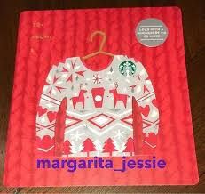 starbucks canada ugly sweater series gift card deer new no value