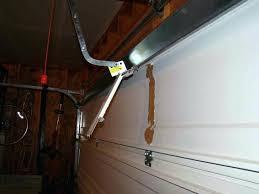 garage door reinforcement bracket sears garage door ideas