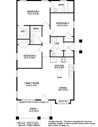images about House Plans on Pinterest   Ranch floor plans    simple floor plans ranch style   SMALL RANCH HOME PLANS Â  Unique House Plans