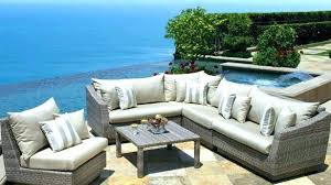 patio furniture dazzling covers collection outdoor set portofino 10 piece